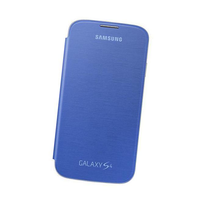 Чехол для Samsung i9500/i9505 Galaxy S IV Samsung EF-FI950BCE голубой