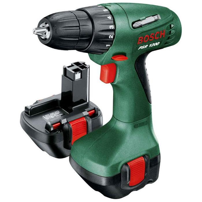 Аккумуляторная дрель-шуруповерт Bosch PSR 1200 1.2Ah x2 Case 0603944551