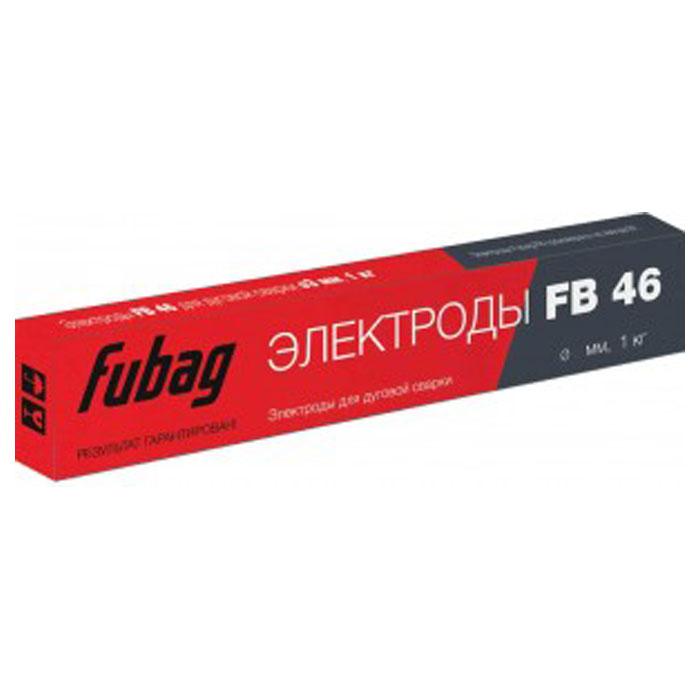 Электрод c рутилово-целлюлозным покрытием FUBAG FB 46 D4.0мм Пачка 1кг