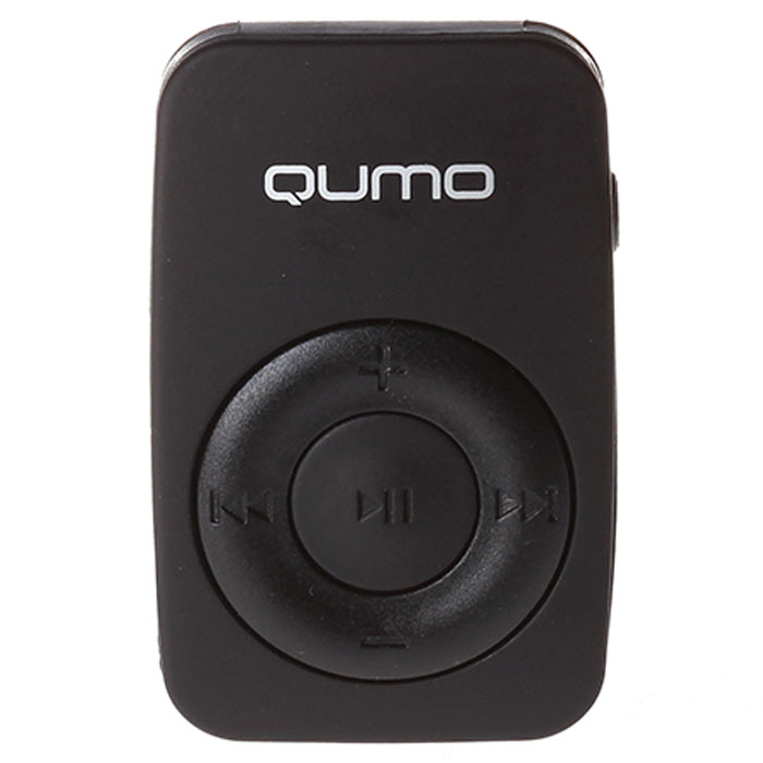 Плеер MP3 flash Qumo Active Cool черный