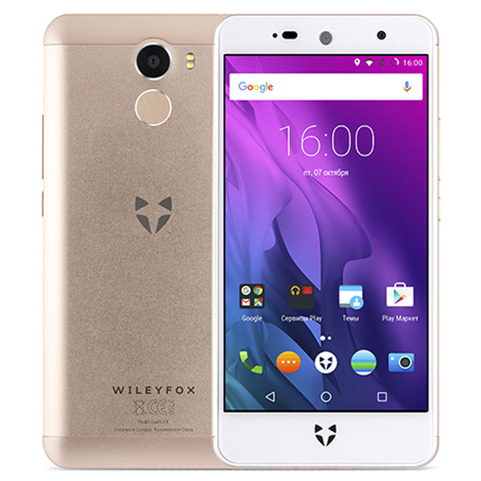 Сотовый телефон Wileyfox Swift 2X Champagne Gold