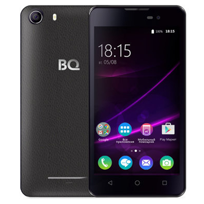 Смартфон BQ Mobile BQS-5065 Choice Black