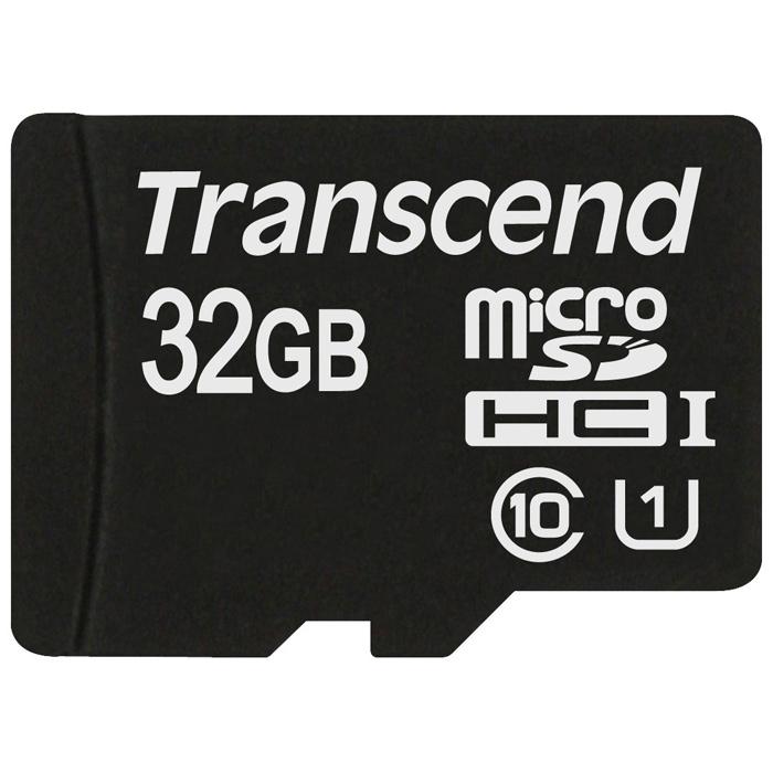 Флеш-карта microSDHC 32Гб Transcend , UHS-I Class 10 ( TS32GUSDCU1 )