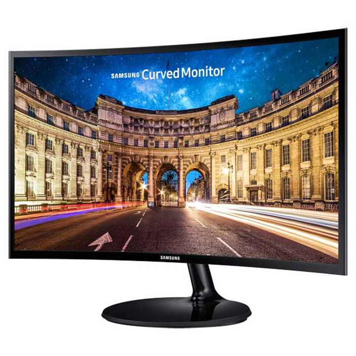 Монитор ЖК Samsung C24F390FHI 23.5″ black VGA HDMI