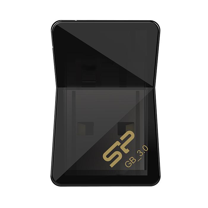 Флеш-диск 16GB Silicon Power Jewel J08 ( SP016GBUF3J08V1K ) USB 3.1 Черный