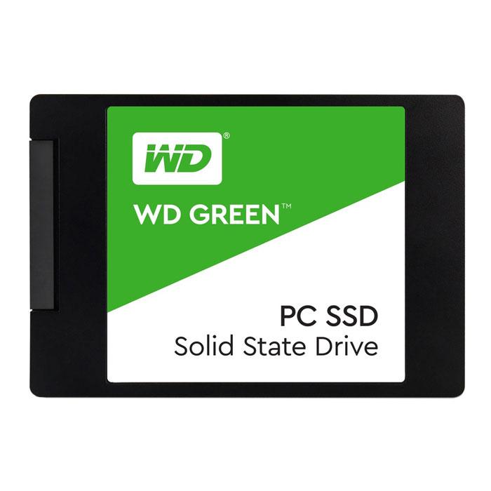 Накопитель 2.5″ 120Gb Western Digital Green WDS120G1G0A SATA3