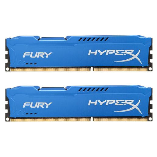 Набор памяти DDR3 1866MHz 8Gb (2x4Gb) Kingston HyperX Fury Series ( HX318C10FK2/8 ) Retail