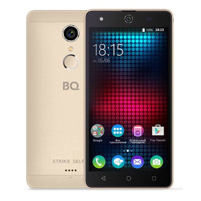 Смартфон BQ Mobile BQS-5050 Strike Selfie Gold
