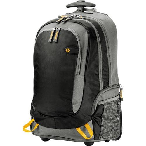 Рюкзак для ноутбука 15.6″ HP Roller Backpack, черный, (J6X32AA)