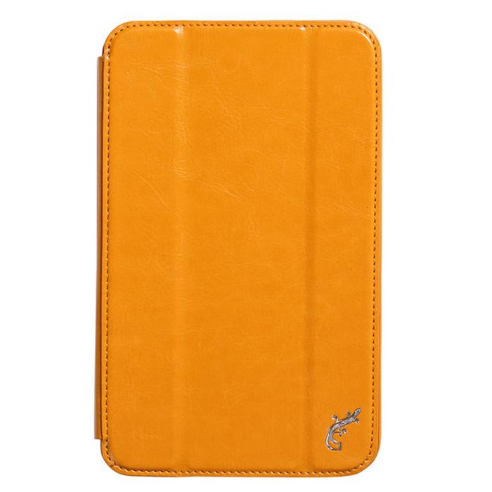Чехол для Asus MeMO Pad 7 ME176CME176CX,, G-case Executive, эко кожа, оранжевый