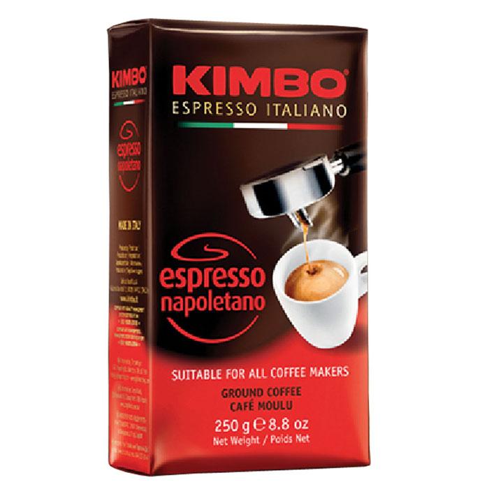 Кофе молотый Kimbo Espresso Napoletano 250 гр в/у