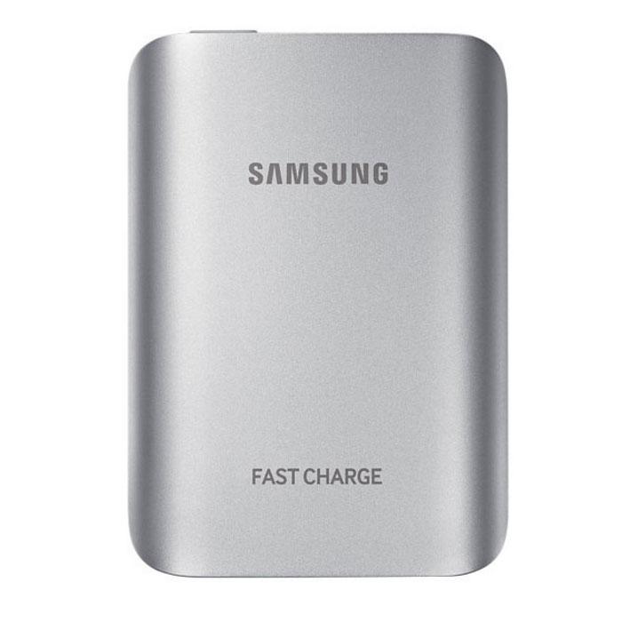 Внешний аккумулятор универсальный Samsung EB-PG930 5100 mAh, Fastcharger, серебристый