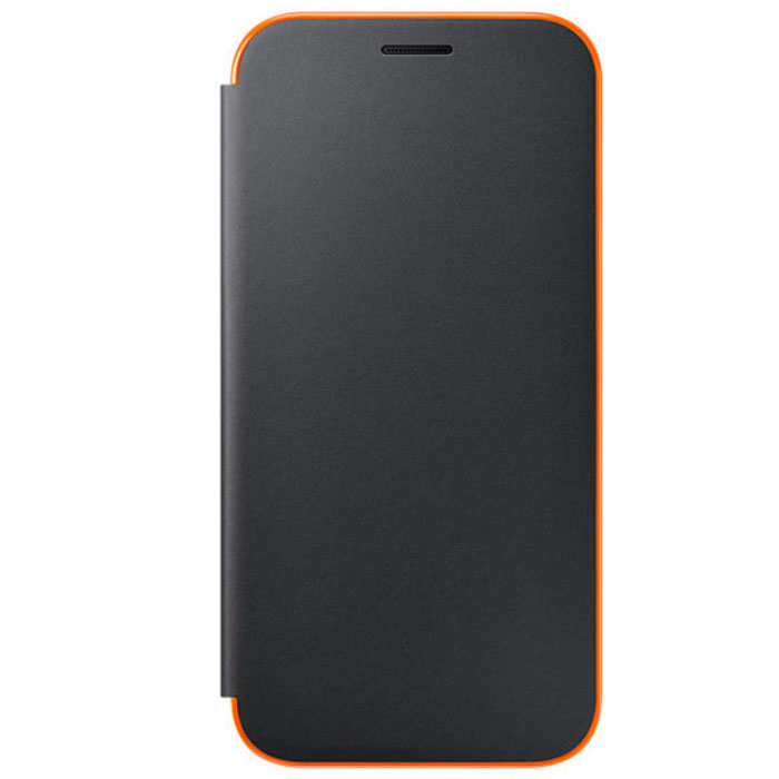 Чехол Samsung Neon Flip Cover для Galaxy A5 (2017) SM-A520F, черный