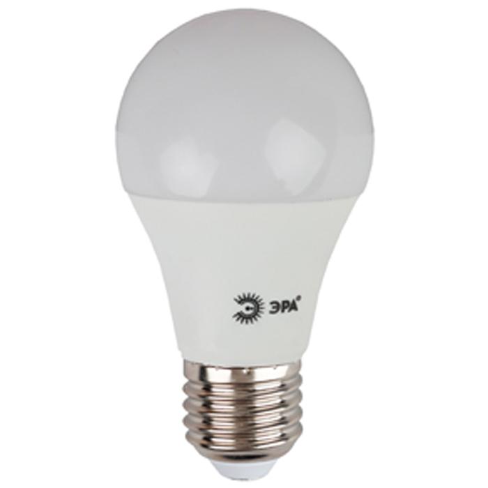 Светодиодная лампа ЭРА A60 E27 10W 220V ECO белый свет