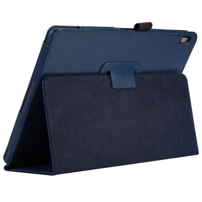 Чехол IT BAGGAGE для Lenovo IdeaTab A7600 A10-70, эко кожа, синий