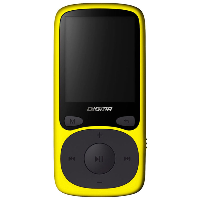Плеер MP3 flash Digma B3 8Gb Yellow