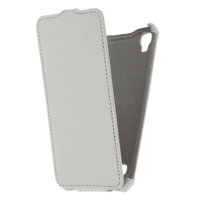 Чехол Gecko Flip case для LG X style K200, белый