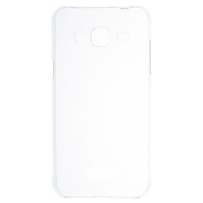Чехол Gecko Силиконовая накладка для Samsung Galaxy J2 Prime SM-G532, прозрачно-глянцевая, белая