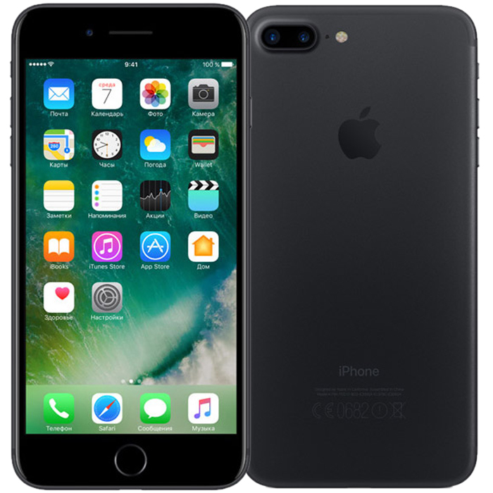 Смартфон Apple iPhone 7 Plus 128GB Black (MN4M2RU/A)