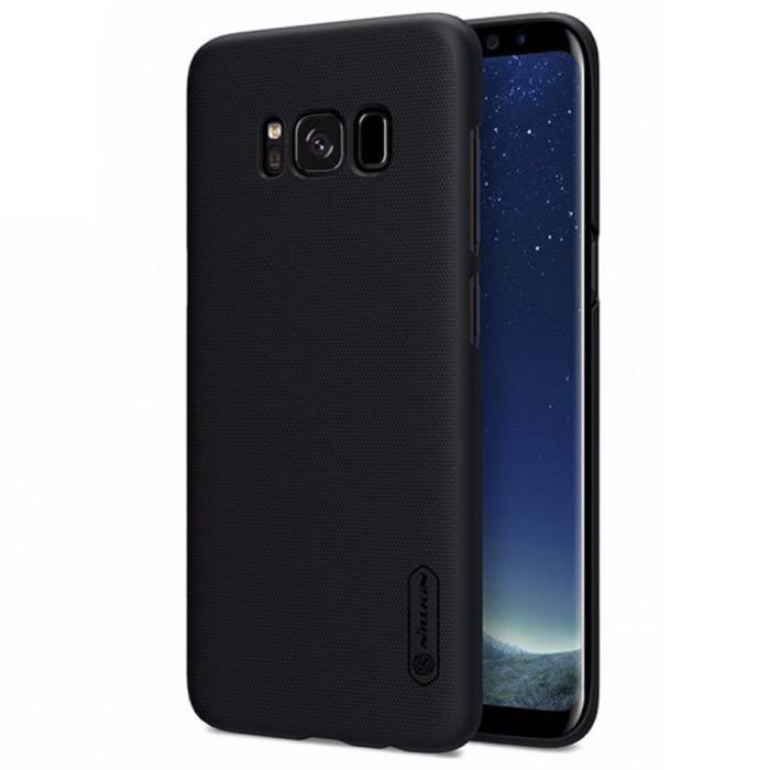 Чехол Nillkin Super Frosted Shield для Samsung Galaxy S8+ SM-G955, черный