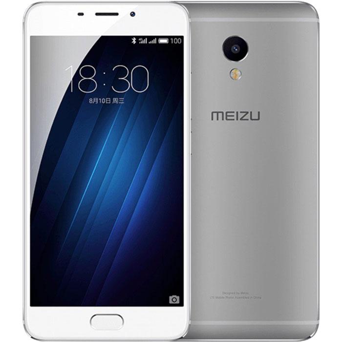 Смартфон Meizu M3E 32GB Silver/White