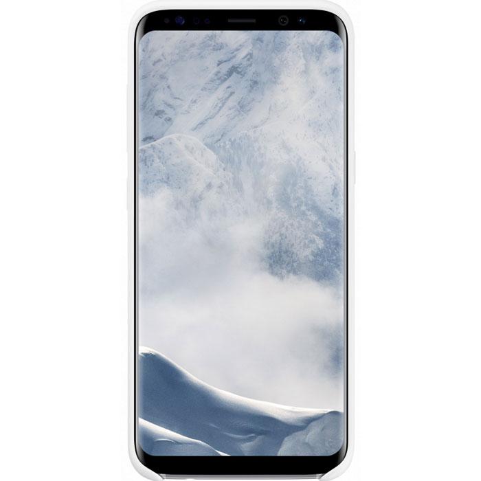 Чехол Samsung Silicone Cover для Samsung Galaxy S8 SM-G950, белый