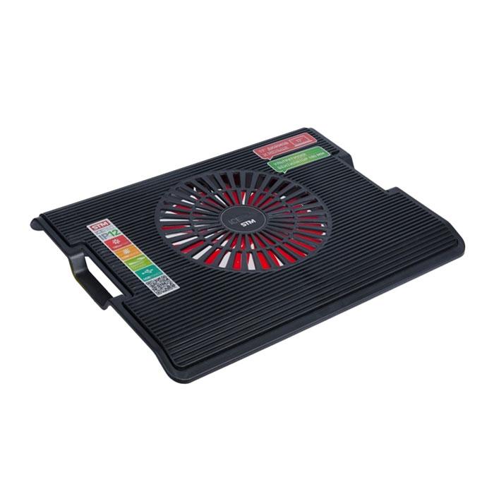 Система охлаждения ноутбука STM Laptop Cooling IP12 ( STA-IP12 ) до 17″ Black