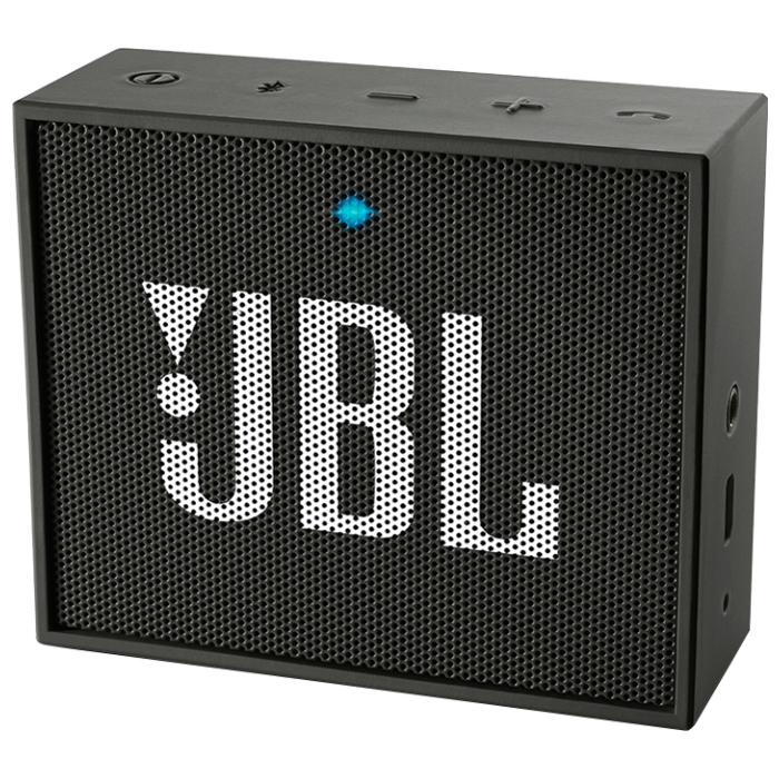 Акустическая система JBL Go, черная
