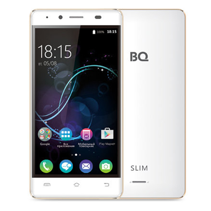 Смартфон BQ Mobile BQS-5060 Slim White
