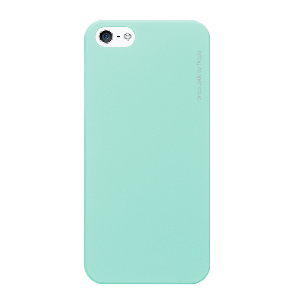 Чехол для iPhone 5/iPhone 5S Deppa Air Case, мятный