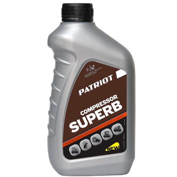 Масло компрессорное PATRIOT 850030600 Compressor Oil GTD 250/VG 0,946л