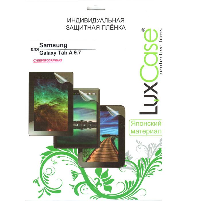Защитная плёнка Luxcase для Samsung SM-T550\SM-T555 Galaxy Tab A 9.7, Суперпрозрачная