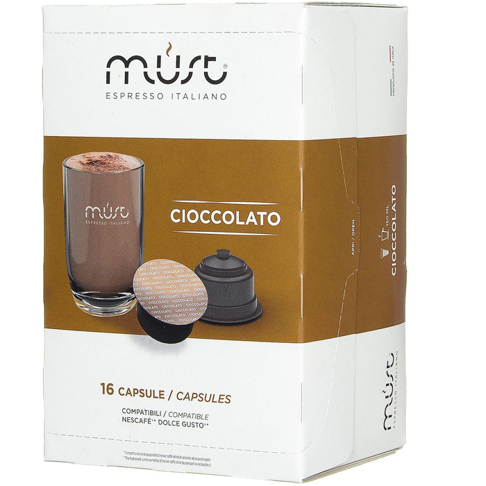Капсулы MUST DG Cioccolato 16шт