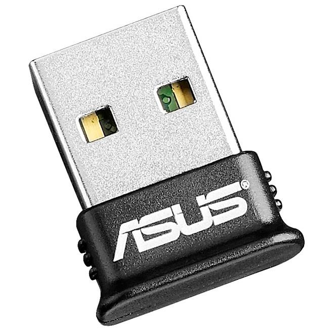 Сетевой адаптер Bluetooth USB ASUS BT-400 черный