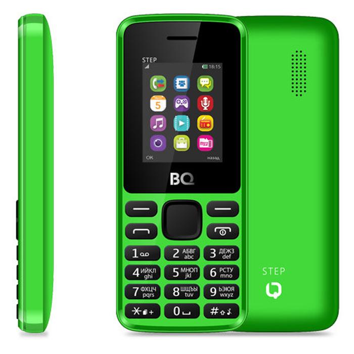 Сотовый телефон BQ Mobile BQM-1830 Step Green