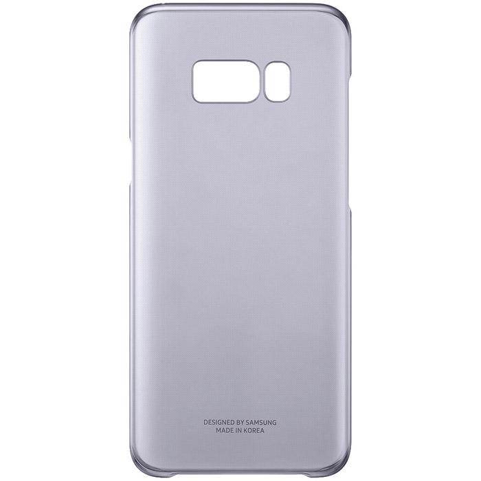 Чехол Samsung Alcantara Clear для Samsung Galaxy S8+ SM-G955, фиолетовый