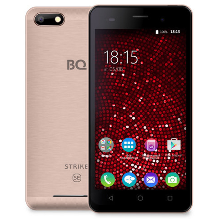 Смартфон BQ Mobile BQS-5020 Strike SE Rose Gold Matt