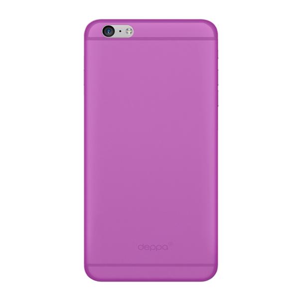 Чехол Deppa Sky Case 0.4 с пленкой для iPhone 6 Plus/ iPhone 6s Plus, фиолетовый
