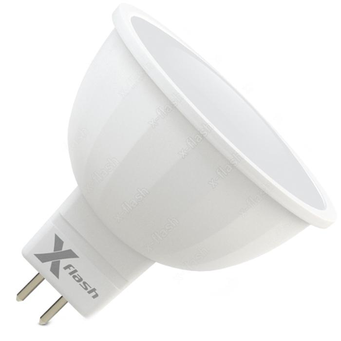 Светодиодная LED лампа X-flash MR16 GU5.3 6W 220V 47574 желтый свет
