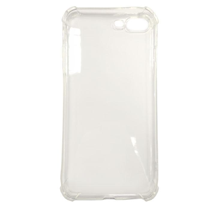 Чехол Gecko силиконовая светящаяся накладка для iPhone 7 Plus, белая