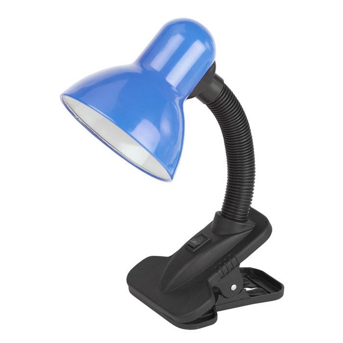 Светильник настольный ЭРА N-102-E27-40W-BU синий