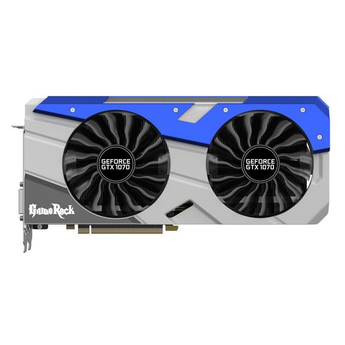 Видеокарта PCI-E Palit GeForce GTX 1070 8192Mb ( PA-GTX1070 GameRock Premium 8G  ) 8192Mb GDDR5 Ret