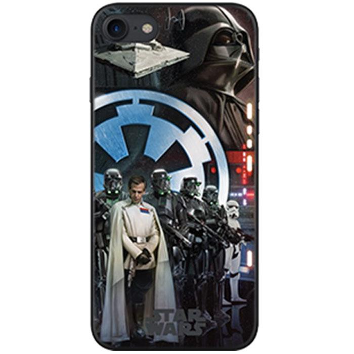 Чехол Deppa Art Case с пленкой для iPhone 7, Star Wars, Изгой, Империя