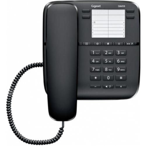 Телефон Siemens Gigaset DA410 черный