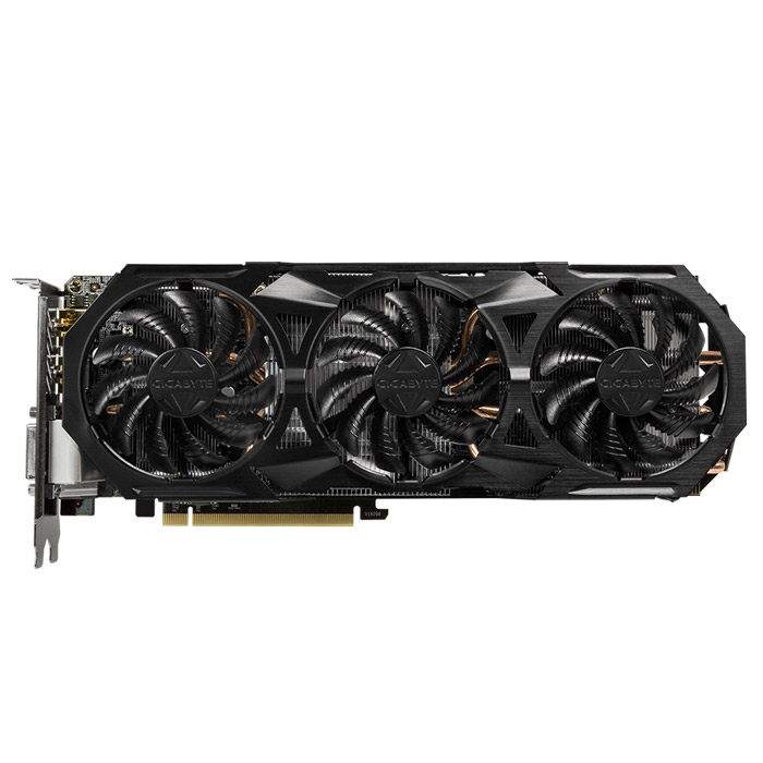 Видеокарта PCI-E GIGABYTE GeForce GTX 1060 6144Mb, GV-N1060G1 Rock-6GD 6144Mb GDDR5 Ret
