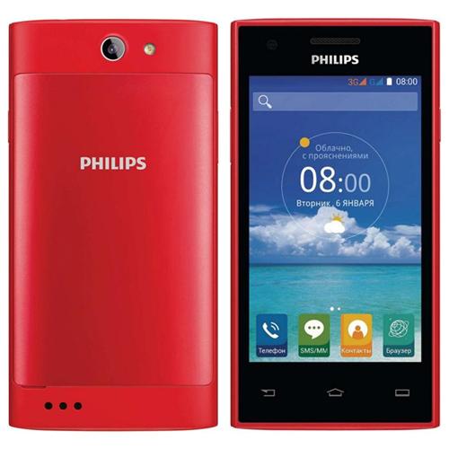 Смартфон Philips Xenium S309, красный