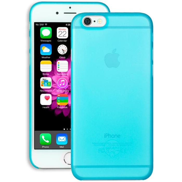 Чехол Ozaki O!coat 0.3 Jelly для iPhone 6 / iPhone 6s, синий