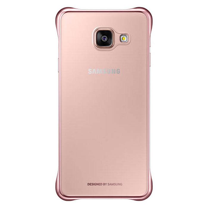 Чехол Samsung Clear Cover для Galaxy A5 (2016) SM-A510F, розовый