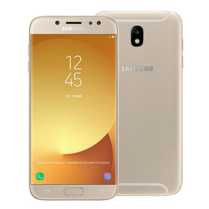 Смартфон Samsung Galaxy J7 (2017) SM-J730FM Gold