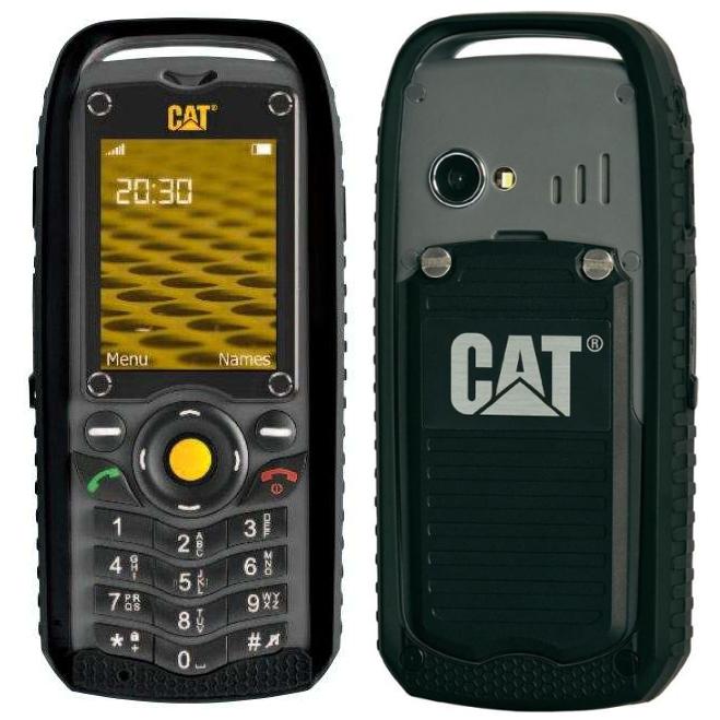 Телефон защищенный Caterpillar CAT B25, черный с защитой от воды и пыли